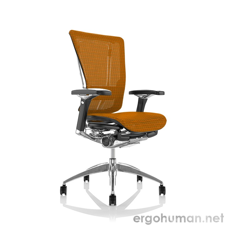 Nefil Orange Mesh Office Chair