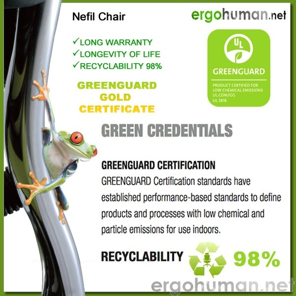 Nefil Office Chair Eco Chair - Green Guard